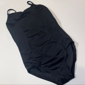 Balera black leotard dance uniform